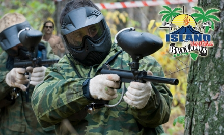 Island-paintball