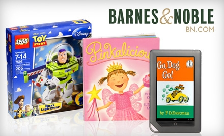 $10 for $20 Worth of Toys and Games, Books and More at Barnes & Noble