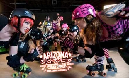 7:00 Arizona Derby Dames - Roller derby
