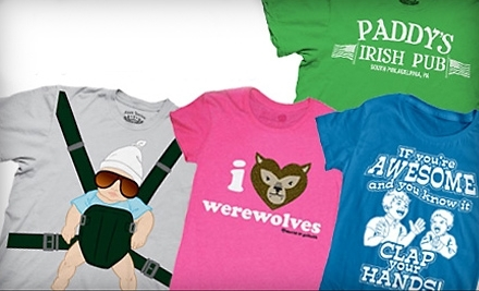 National Groupon for Crazy Dog T-shirts, Hoodies, and More