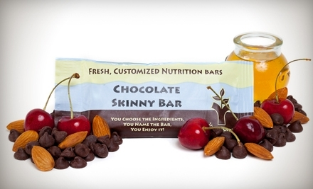 National Groupon for Custom Nutrition Bars, Shakes, Trail Mix, and More from You Bar
