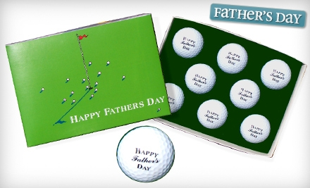 National Groupon forHalf Off Father's Day Golf Balls from Golfbox.com