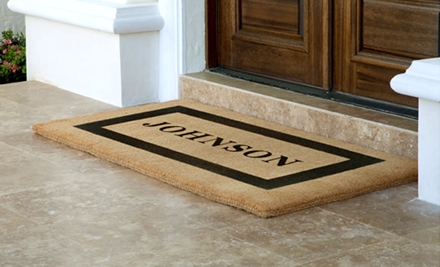 National Groupon forCustom Products from The Personalized Doormats Company