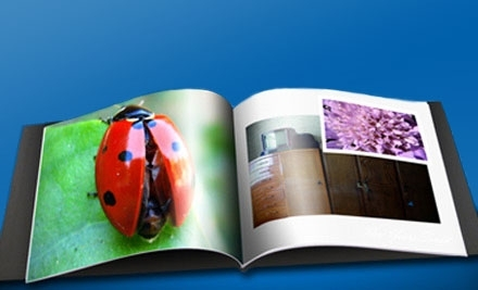 National Groupon for 8x8 inch Soft-Cover Photo Book from A & I Books for $10