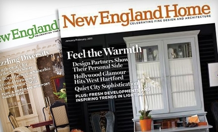 National Groupon for New England Home Magazine Subscription for $10