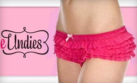 National Groupon for $25 Worth of eUndies Women's Underwear and Sleepwear for $12