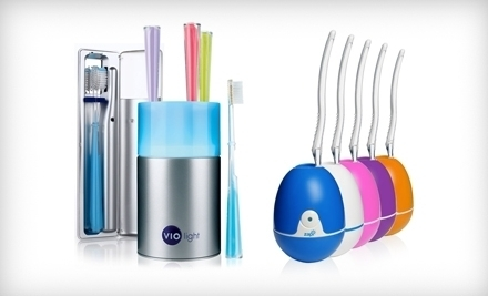 National Groupon for UV Toothbrush-Sanitizing Products from Violight