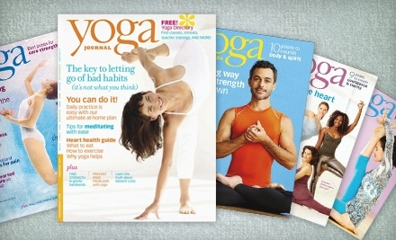 National Groupon for One-Year Subscription to Yoga Journal Magazine (Up to $21.95 Value)
