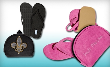 National Groupon for $25 Worth of Foldable Sandals from Flexflop for $10