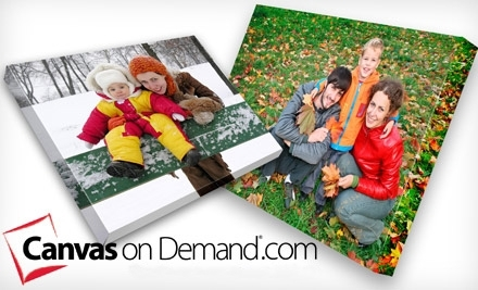 National Groupon for One 16x20 Inch Canvas on Demand Gallery-Wrapped Canvas for $45 ($126.95 Value)