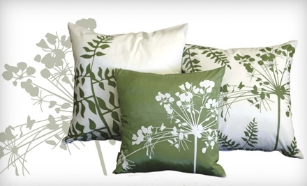 National Groupon for $50 Worth of Pillows at Pillow Decor