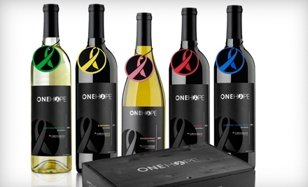 National Groupon for $100 Worth of Wine from OneHope Wine for $45