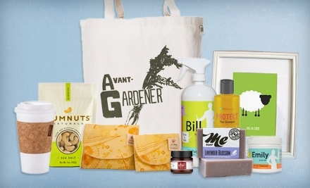 National Groupon for $20 for $40 Worth of Eco-Friendly Natural Goods, Beauty, Fashion, and Pet Products