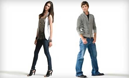 National Groupon for $155 Worth of Custom-Fit Jeans for $85 from Indi