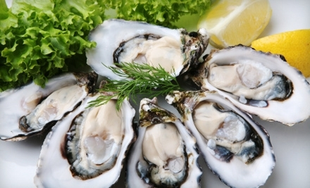 National Groupon for 48 Fresh Live Oysters from Hood Canal Seafood for $44 ($93 Value)