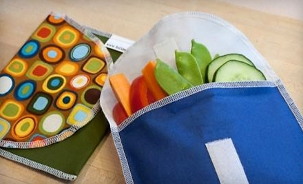 National Groupon for $30 Worth of Reusable Snack and Sandwich Bags for $15