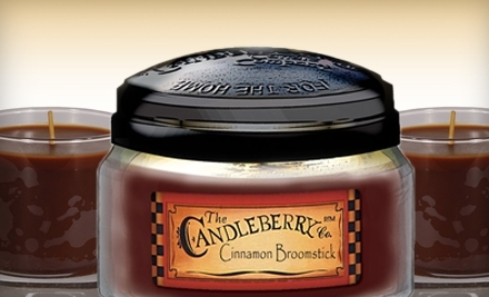 National Groupon for $30 Worth of Candles and Gifts from Candleberry Company for $15