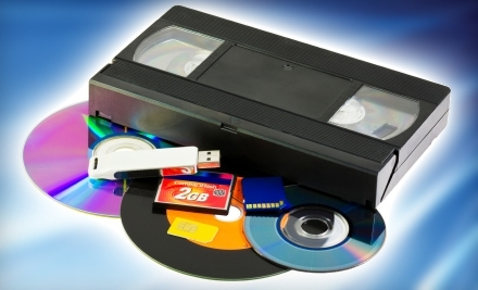 National Groupon for Two Videotapes Transferred to Two DVDs ($40 Value) for $20