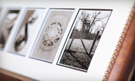 National Groupon for Sticks and Stones Personalized Alphabet Photography for $65 ($139.99 Value)