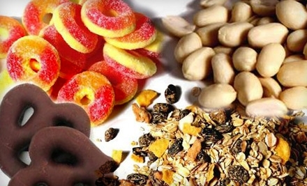 National Groupon for $25 Worth of Nuts, Dried Fruit, and More for $10 from The Nutty Guys
