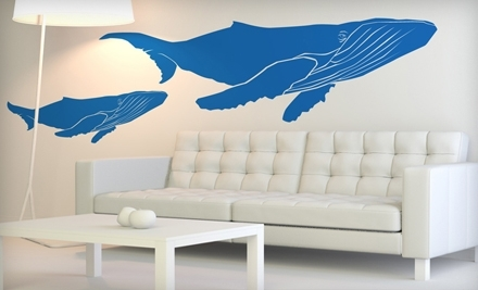 National Groupon for $30 Worth of Wall Decals from SissyLittle for $15