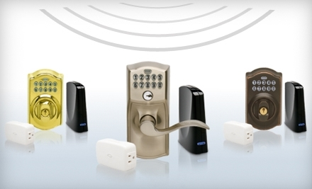 National Groupon for Wireless Keypad Lock and Subscription to Schlage Link Home Management System from Schlage