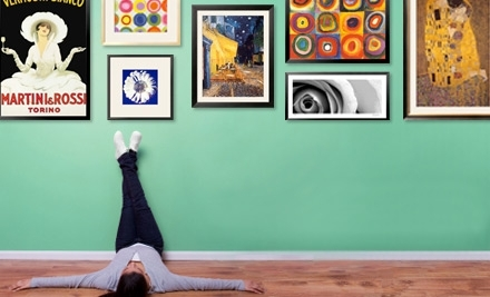 National Groupon for $100 Worth of Art.com Framed Art, Prints, and Posters for $50