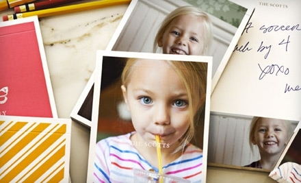 National Groupon for $60 Worth of Personalized Photo Items from Pinhole Press for $30