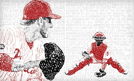 National Groupon for Commemorative Roy Halladay Phillies Baseball Poster, Including Shipping for $15