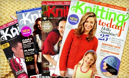 National Groupon for One-Year Knitting-Magazine Subscription for $10 ($17.97 Value)