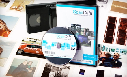 $40 for $100 Worth of Photo and Video Digitization Services from ScanCafe