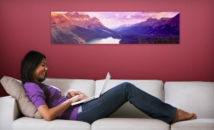 $35 for a Panoramic Wall Mural from Larger Than Life Prints ($84 Value)