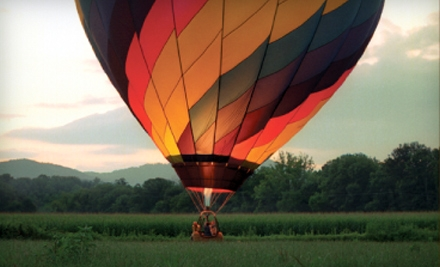 $125 for a Hot Air Balloon Ride from R.O. Franks Aviation Company in Asheville, NC ($250 Value)
