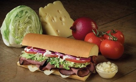 $5 for $10 Worth of Sandwiches and Drinks at Port of Subs