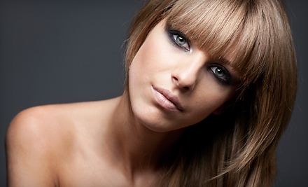 $73 for Haircut and Partial Foil Highlights at Salon Blu (Up to $147 Value)