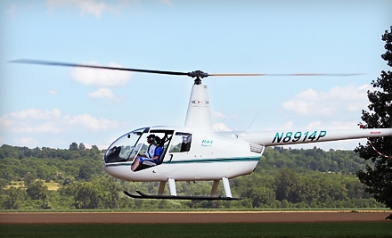 $180 for a 30-Minute Helicopter Excursion for Up to Three People from H&L Enterprises of WNY LLC in Mayville ($300 Value)