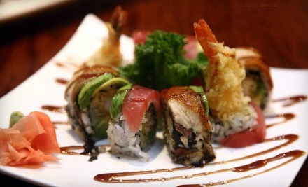 $9 for $18 worth of Sushi Fare and Drinks at Sun Cafe