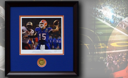 $25 for $50 Worth of Merchandise from Framed College Football Art