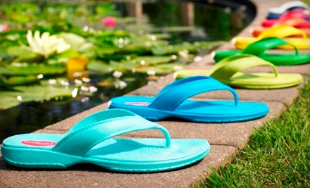 $15 for $30 Worth of Eco-Friendly Sandals from Okabashi