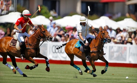 $10 for a Polo-Match Outing for Two at Santa Barbara Polo & Racquet Club ($20 Value)