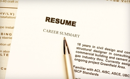 $85 for Professional Resumé and Cover-Letter Writing Services from JMC Resumes, Ltd. ($215 Value)