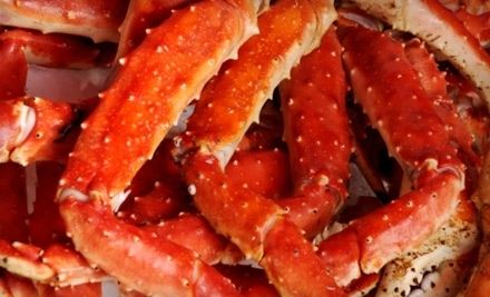 Dinner for Two with Appetizer and Entrees or $25 Worth of Seafood Fare at Crab Creek in Christianburg