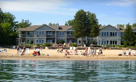 $110 for a Two-Night Stay for Two at Sand Bay Beach Resort (Up to $220 Value)