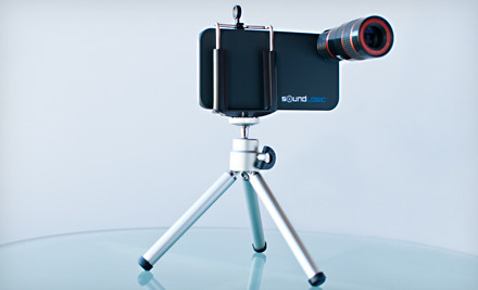 iPhone Telescopic Lense and Tripod Groupon